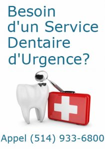 service dentaire d'urgence